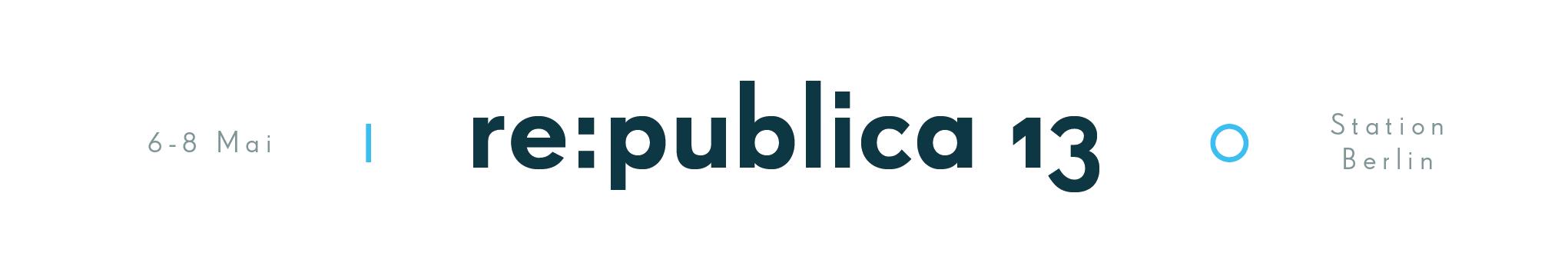 re:publica Logo 2013