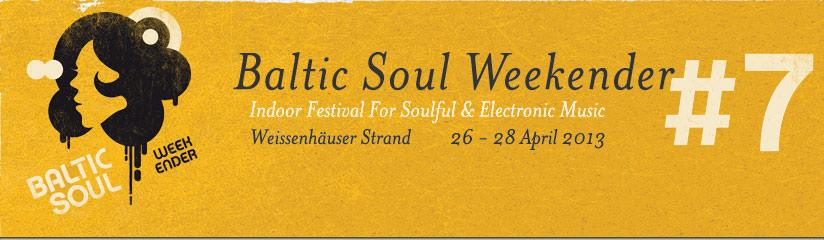 Baltic Soul Weekender Logo 2013
