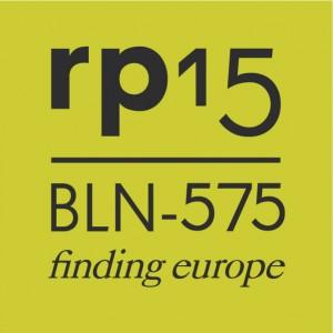 Logo_rp15_BLN-575_finding_europe_Hochformat_Grün